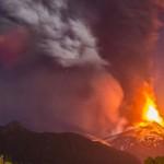 チリで噴火した火山の映像が凄まじい