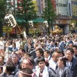 江戸三大祭りの1つ神田祭の神輿宮入がネットライブ配信