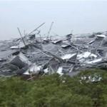 群馬県で突風被害-相次ぐ被害