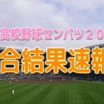 春のセンバツ「選抜高校野球」2016結果速報