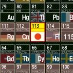 「ニホニウム」が有力?日本が発見した113番元素名称案が公表へ