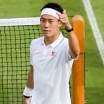 テニス男子ウィンブルドン開幕 錦織圭結果速報