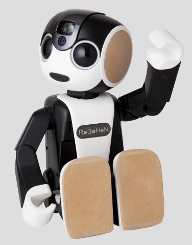 ロボホン「ロボット型携帯電話」